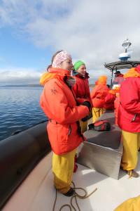 Tadoussac: en bateau
