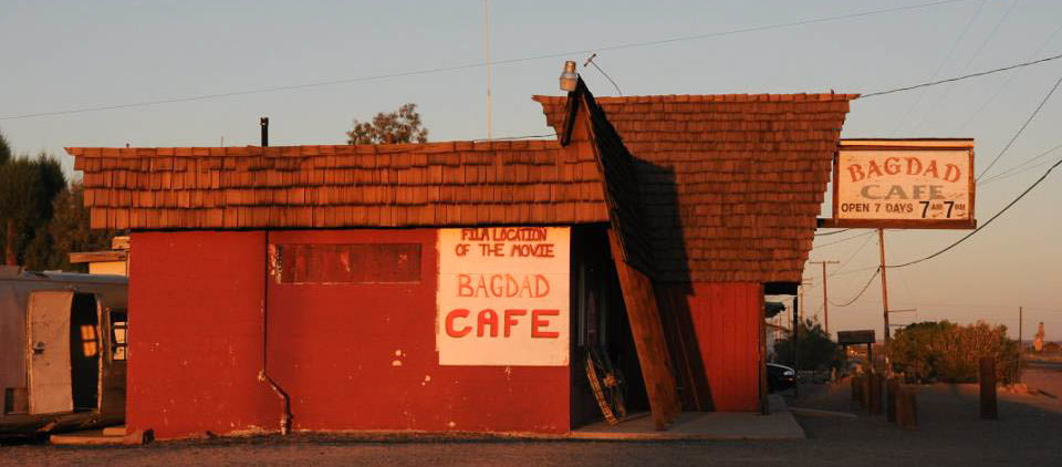 Road Trip USA: bagdad cafe