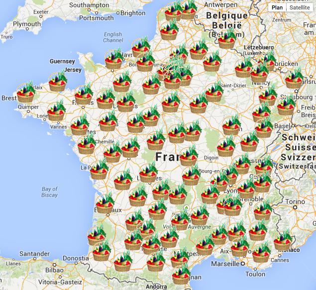 Réseau AMAP France