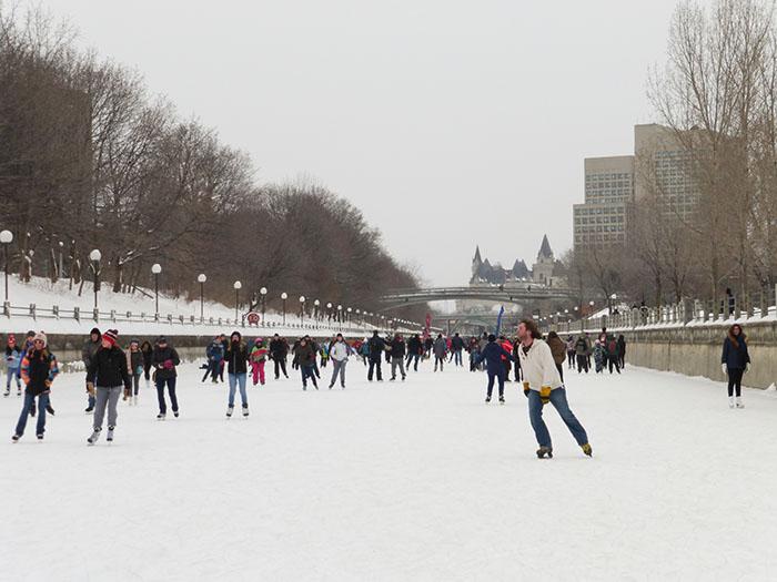 Hiver Montreal : Ottawa