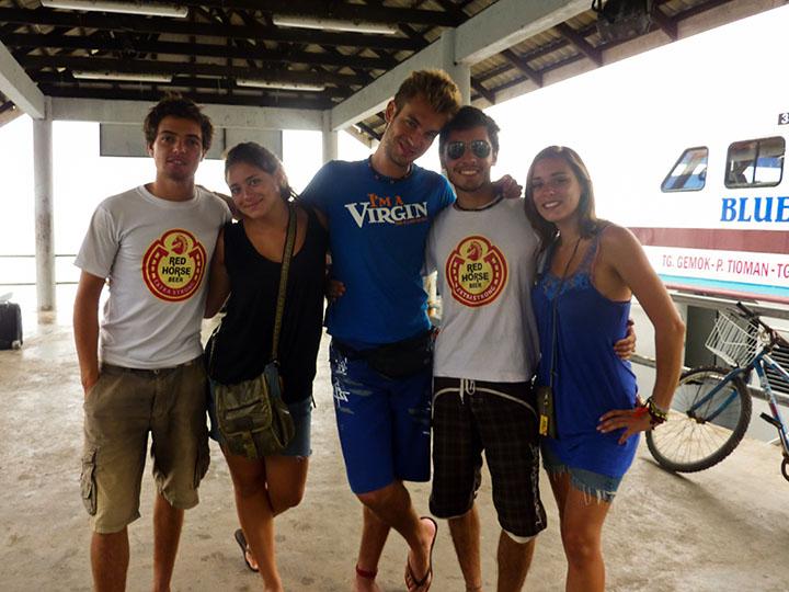 Voyageurs en Malaisie