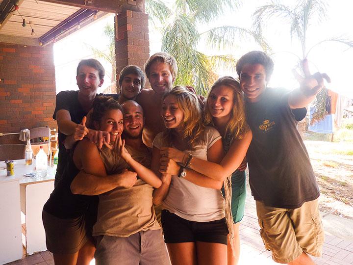 Voyageurs en Australie
