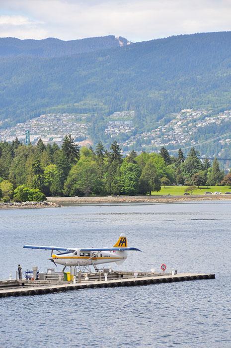 Zone de confort: Avion Vancouver