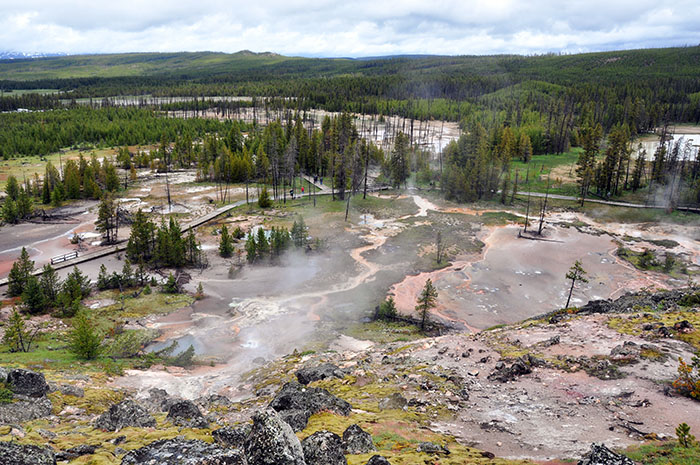 Yellowstone National Park : Artist Paint Pots