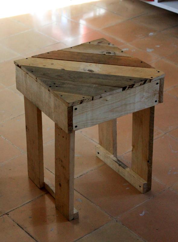 Mission 3 construire des meubles en palettes - Construire une table avec des palettes ...