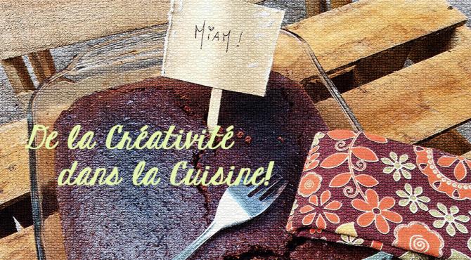 Créativité dans la cuisine