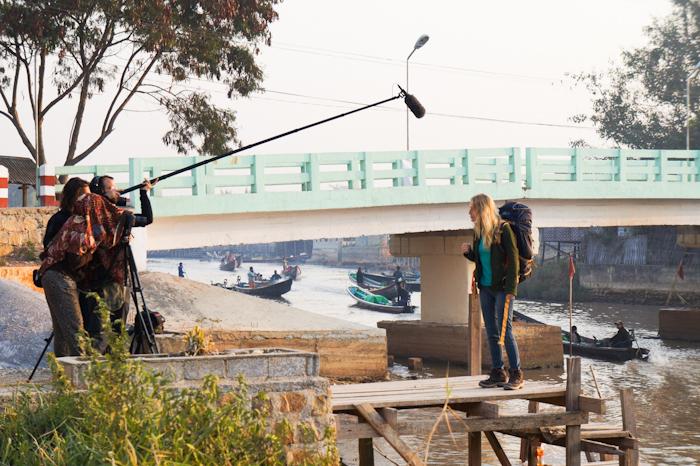Les éclaireurs tournage