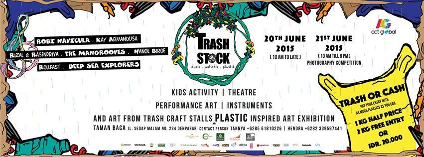 6 - TrashStock : Art et musique contre le plastique !