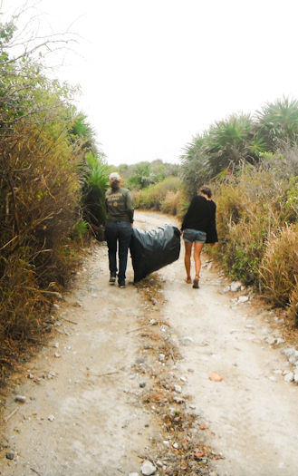 Déchets cozumel - {Mission 5} Un pied dans les initiatives de Cozumel