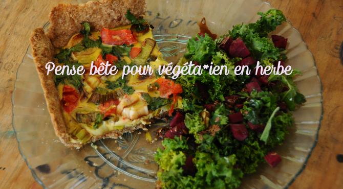 pense bête végétarien