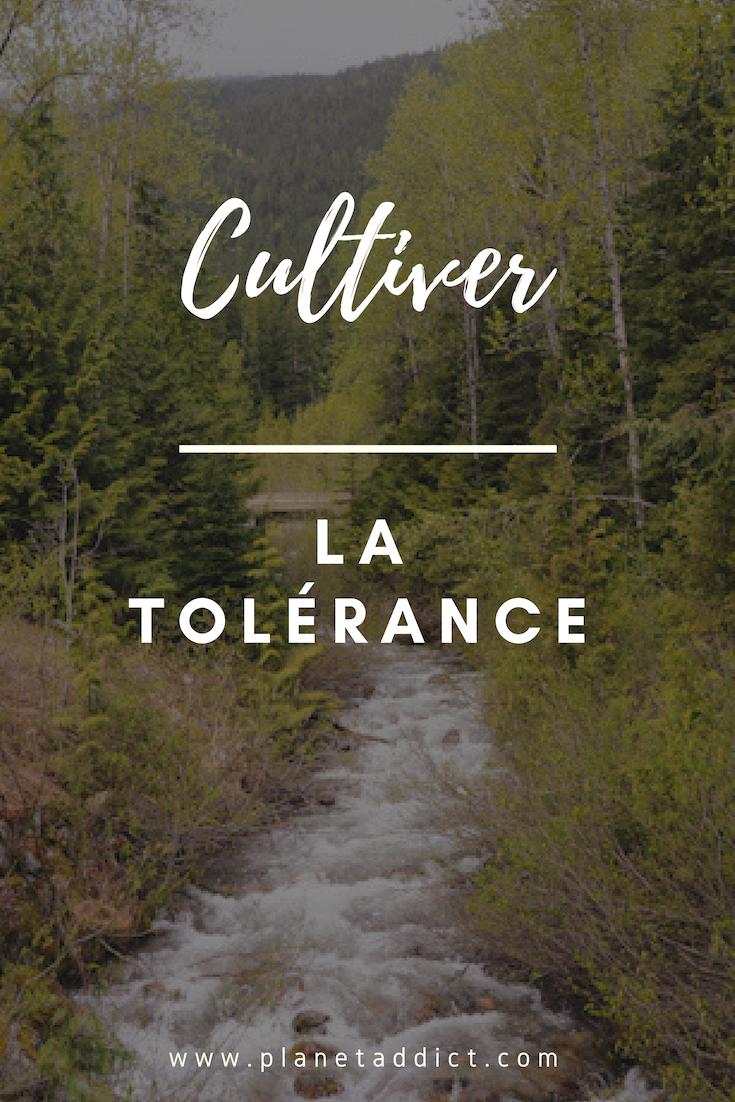 Pinterest - développer la tolérance