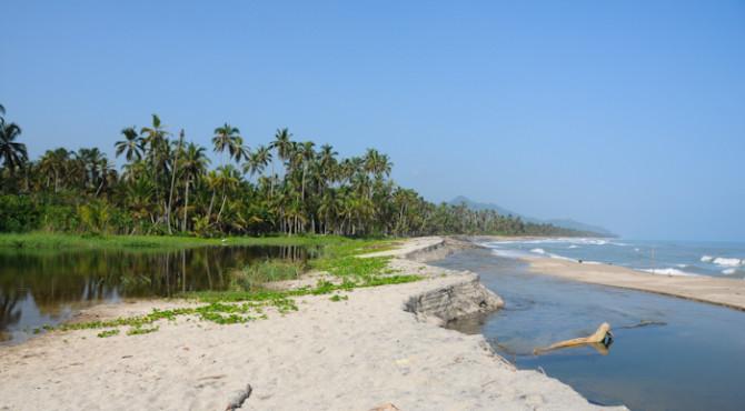 Palomino plage et rivière