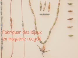 20161027 bijoux 002 268x200 - {DIY} Tuto pour fabriquer des bijoux en magazine recyclé