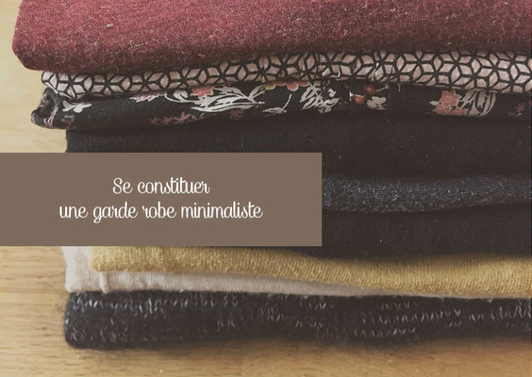 Se constituer une garde robe minimaliste