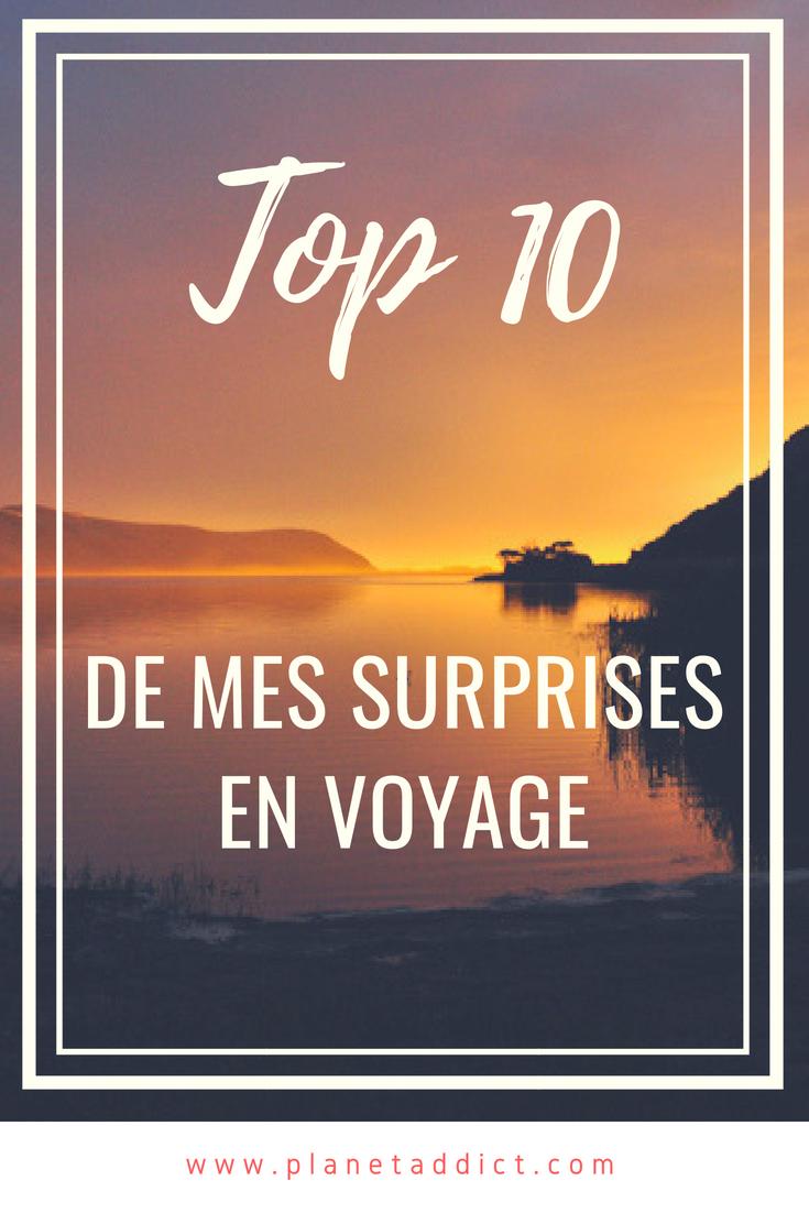 Pinterest Surprises voyage - Mon top 10 des plus belles surprises en voyage !