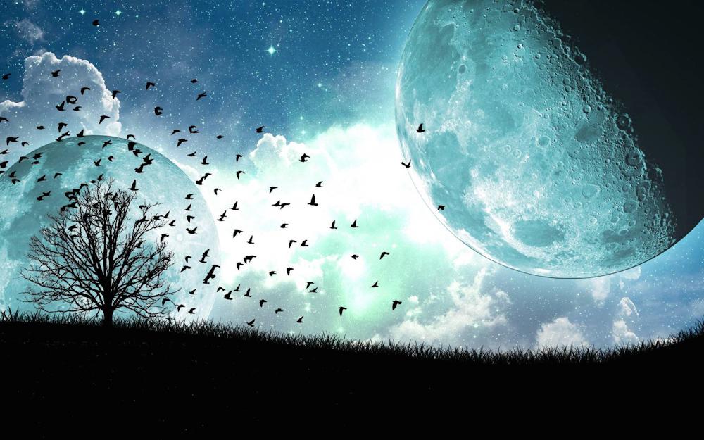 lune rouge pics - Renouer avec ses cycles et faire un cadran lunaire