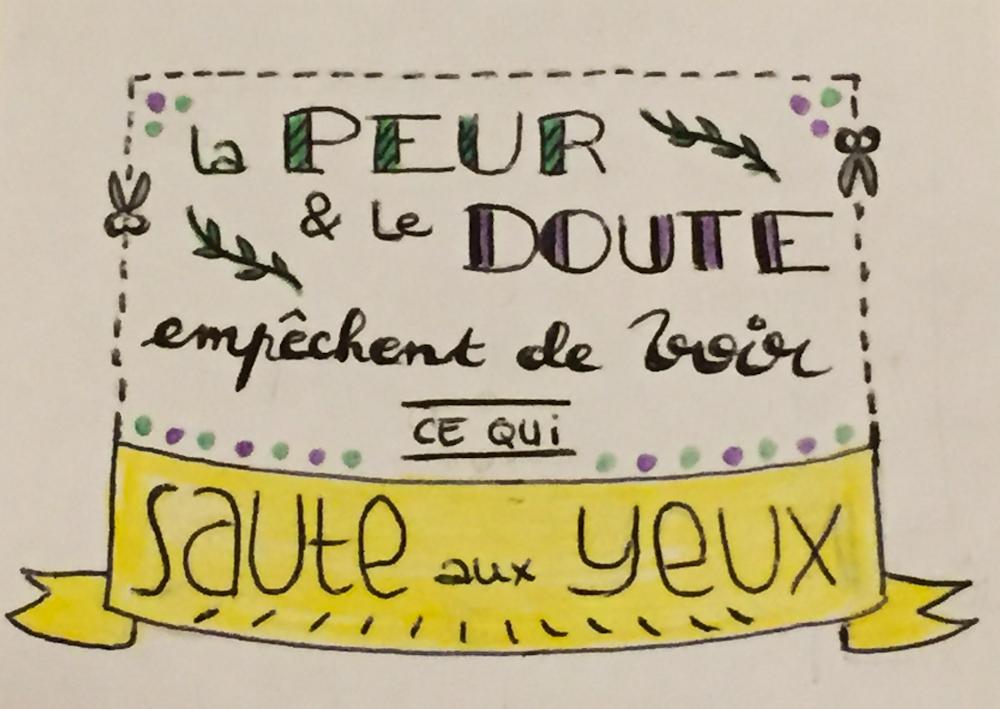 lettering 2 - L'après-voyage, ou comment se retrouver une place