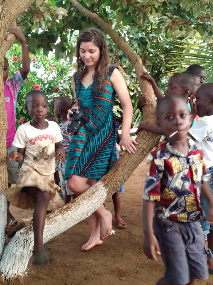 Photo2 - Bénévolat et Tourisme Solidaire en Côte d'Ivoire : l'expérience de Sofia