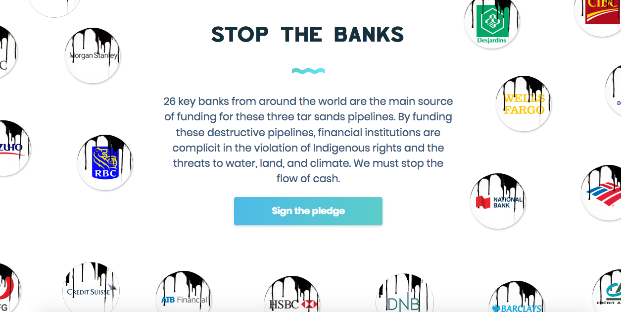 Stop the banks