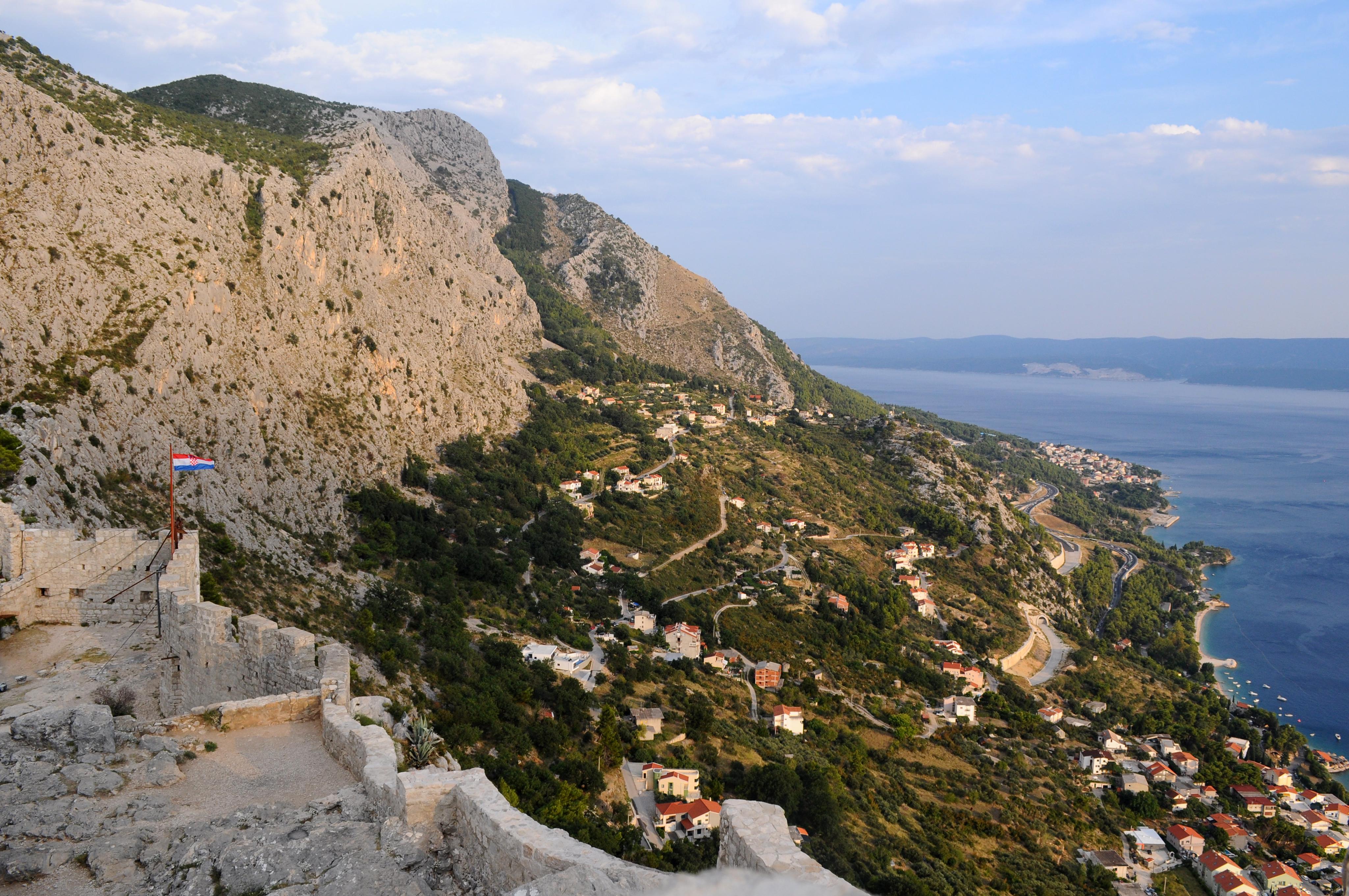 Omis view - Mon itinéraire d'une semaine en Croatie