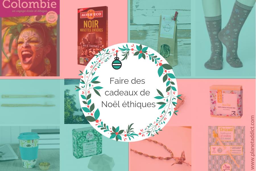 Cadeaux de Noël éthiques