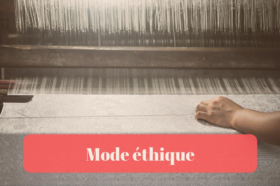 Mode éthique - Éco-Consommation