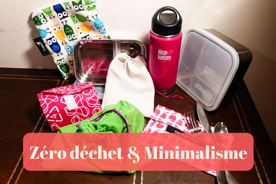 Zéro déchet minimalisme - Éco-Consommation