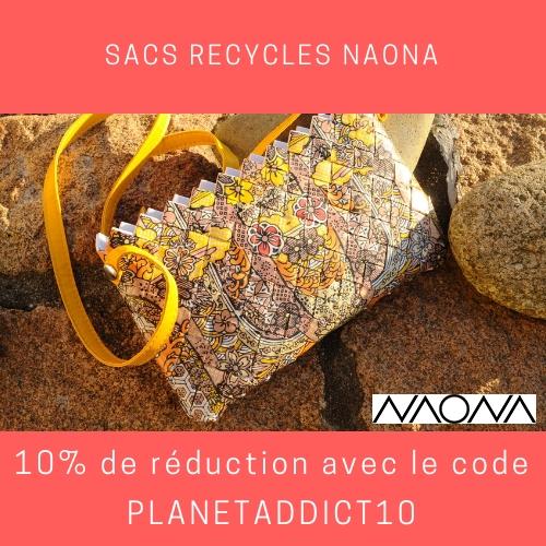 Code promo sacs recyclés Naona